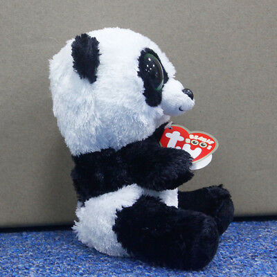 "Ty Beanie Boos 6"" Small Panda Stuffed Plush Toy Soft Animals Toy Baby Plush Doll"