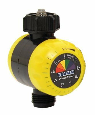 Dramm 15043 ColorStorm Premium Water Timer, Yellow