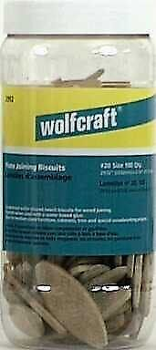 wolfcraft 2991405 Compressed Wafer Shaped Wood Joining