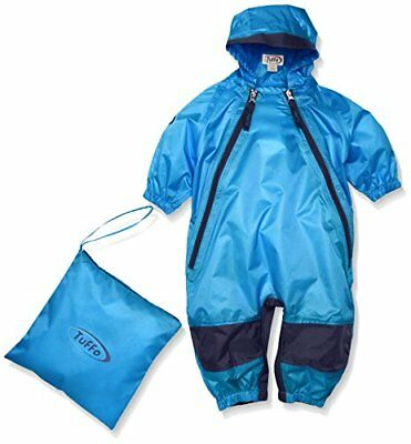 Tuffo Unisex Baby Muddy Buddy Coverall, Blue, 12 Months
