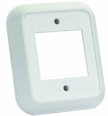 JR Products 13515 White Double Switch Wall Spacer