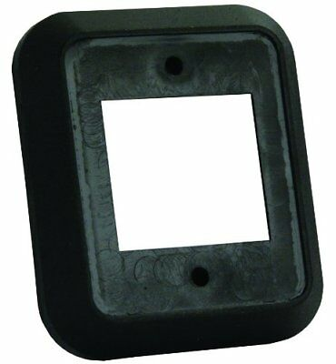 JR Products 13525 Black Double Switch Wall Spacer