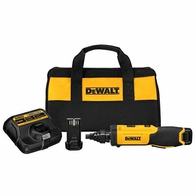 DEWALT DCF681N2 8V Max Gyroscopic Screwdriver with Cond