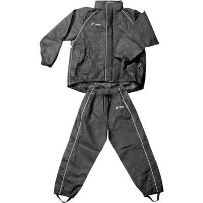 Frogg Toggs Women's Cruisin Toggs Rainsuit (Black, Smal