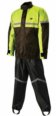 Nelson-Rigg Stormrider Rain Suit (Black/High Visibility