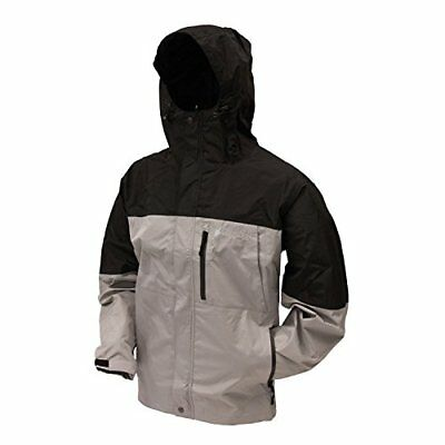 Frogg Toggs Toadz Rage Jacket, Grey/Black, XX-Large