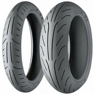 Michelin - 98329 - Power Pure SC Tire, Rear - 140/60-13