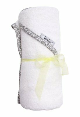 """Extra Large 40""""x30"""" Absorbent Hooded Towel, Solid White"""