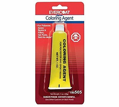Fibre Glass-Evercoat Co Color Agent(1 Oz.), Sunset Yell