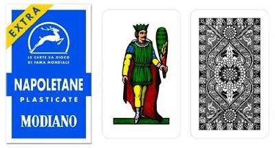 Napoletane 97/31 Modiano Regional Italian Playing Cards
