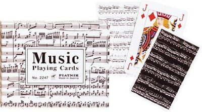 Piatnik Music Playing Cards