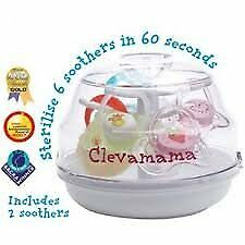 Clevamama Microwave Baby Pacifier Sterilizer