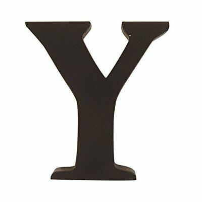 """Trend Lab Brown 6"""" Tall Letter, Letter Y"""