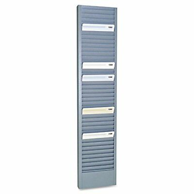 MMF 20601 40-Pocket Steel Swipe Card/Badge Rack, 4 1/8