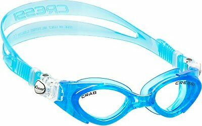 Cressi Crab, blue/blue, clear lens