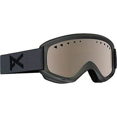 Anon Men's Helix Goggles W. Spare Lens, Stealth/Slvr Am