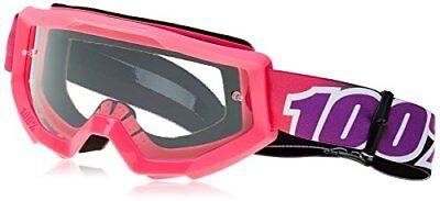 100% unisex-adult Goggle (Pink,Clear,One Size) (STRATA