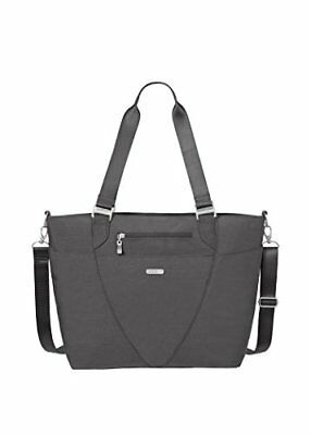 Baggallini Avenue Travel Tote, Charcoal, One Size