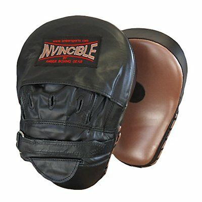 Amber Sporting Goods Invincible Curved Focus mitts (Med