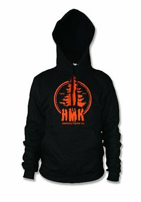 HMK Men's Stamp Pullover Hoody (Black, X-Large)