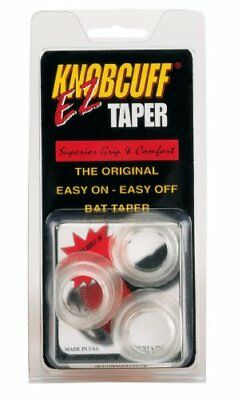 Markwort Knob Cuff Taper Grip-Pack of 3 (Clear)