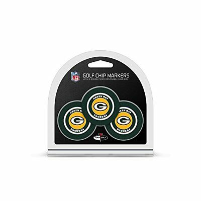 NFL Green Bay Packers 3 Pack Golf Chip Ball Markers