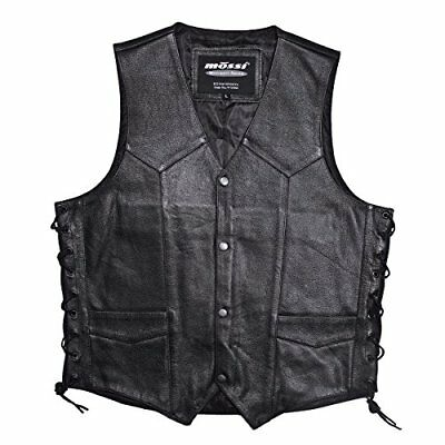 Mossi Live to Ride Men's Vest (Black, Size 46)