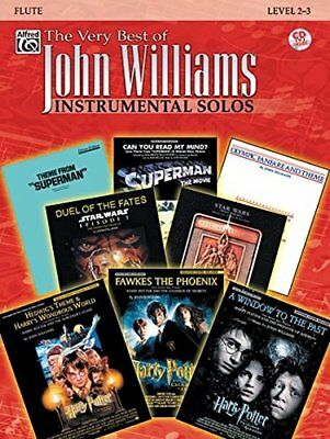 The Very Best of John Williams: Flute, Book & CD