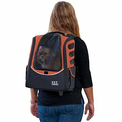 Pet Gear I-GO2 Escort Roller Backpack for cats and dogs