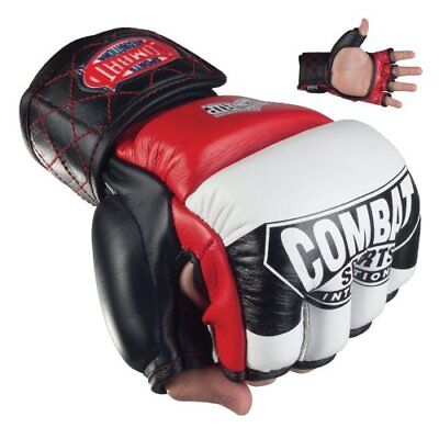 Combat Sports MMA Amateur Competition Gloves (Red, Larg