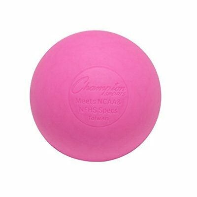 Champion Sports Colored Lacrosse Balls: Pink Official S