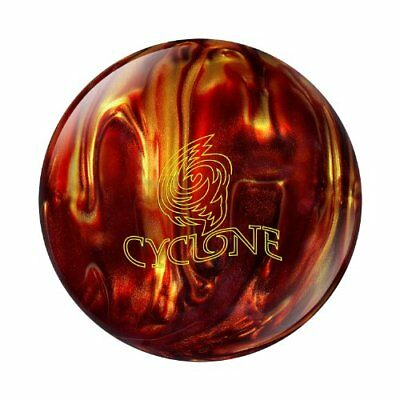 Ebonite Cyclone Bowling Ball, Fireball, 10-Pound