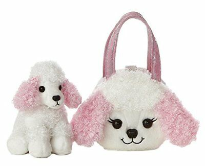 Aurora Fancy Pal Poodle with Pink Ears Pet Carrier