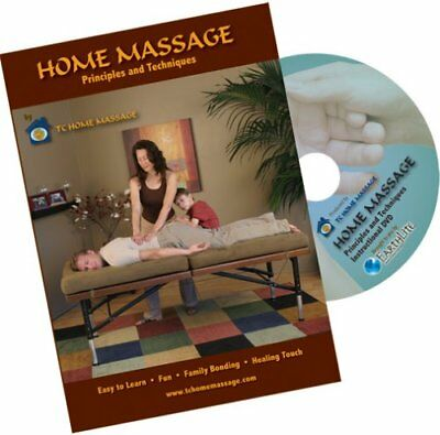 EARTHLITE Home Massage Principles and Techniques DVD -