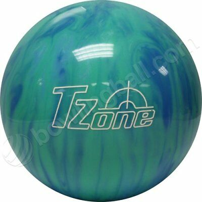 Brunswick TZone Caribbean Blue Bowling Ball (9-Pounds)