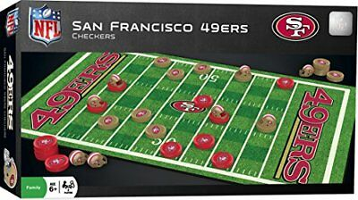 MasterPieces NFL San Francisco 49ers Checkers Board Gam