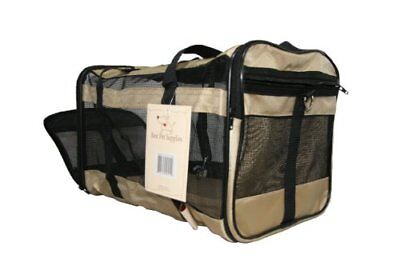 Airline Compliant Pet Carrier for Small Dogs Cats- Comf