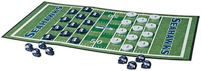MasterPieces NFL Seattle Seahawks Checkers Board Game