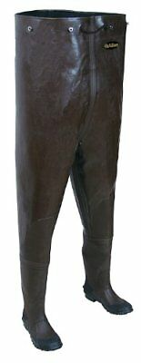 Allen Grand River Rubber Bootfoot Chest Waders