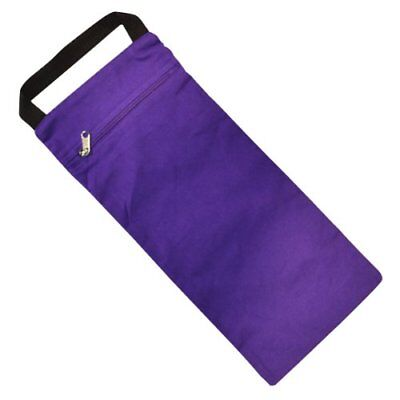 YogaDirect Unfilled Yoga Sand Bag, Purple