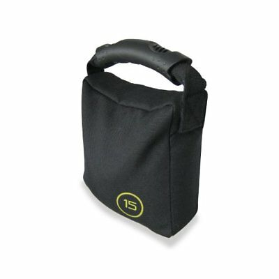 CAP Barbell Weighted Bag, 10-Pounds, Black