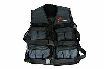 ProSource 20lb Weighted Unisex Workout Vest Training Fi