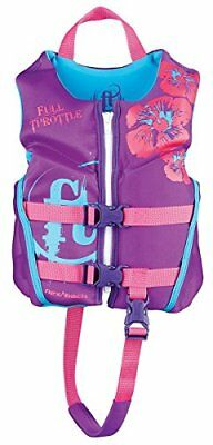 Full Throttle Child Hinged Rapid-Dry Flex-Back Life Jac