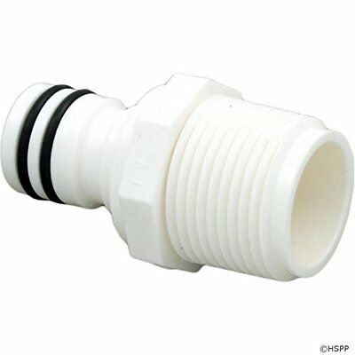 Zodiac D23 Plastic NPTM Quick Disconnect Plug with 2 O-