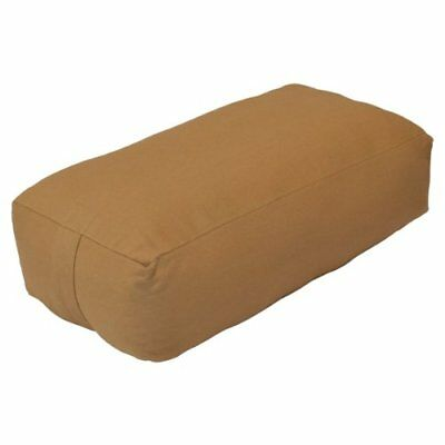 YogaDirect Supportive Rectangular Cotton Yoga Bolster,