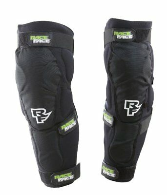 Race Face Flank Leg Guard, Stealth, Small