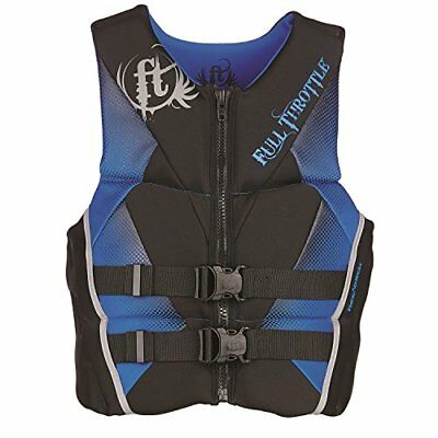 Full Throttle Men's Hinged Rapid-Dry Flex-Back Life Ves
