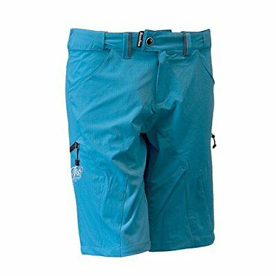 Race Face Women's Piper Shorts, Turquoise, Large