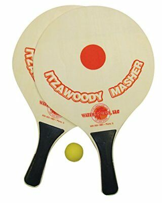 Water Sports ItzaWoodyMasher Paddleball Set