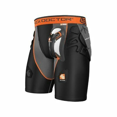 Shock Doctor Men's Ultra Shockskin Hockey Shorts, X-Sma